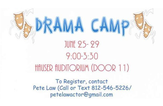 Drama camp for kids begins today